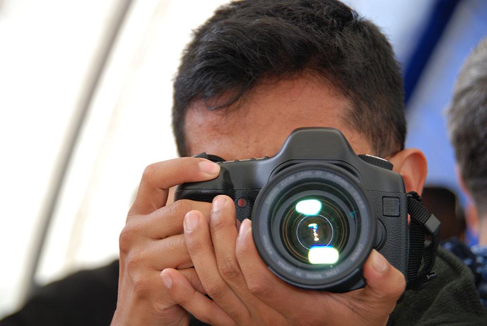 Fotógrafo Patricio Tisalema