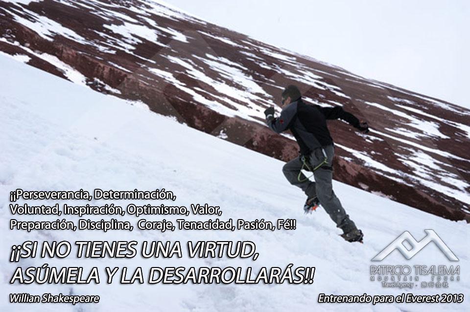 Entrenando para el Everest 2013