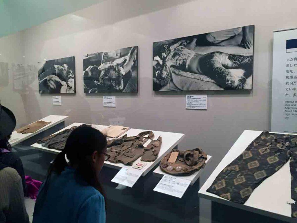 El museo del Domo de la Paz-Hiroshima, Japòn.