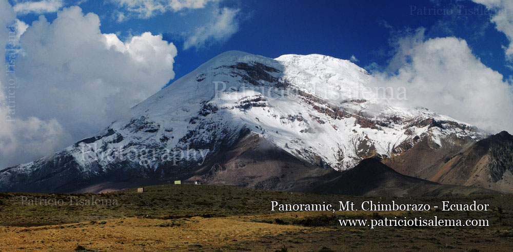 Patricio Tisalema Photography, Panoramic Mt. Chimborazo