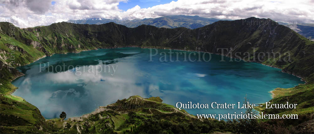 Patricio Tisalema Photography, Quilotoa Crater Lake