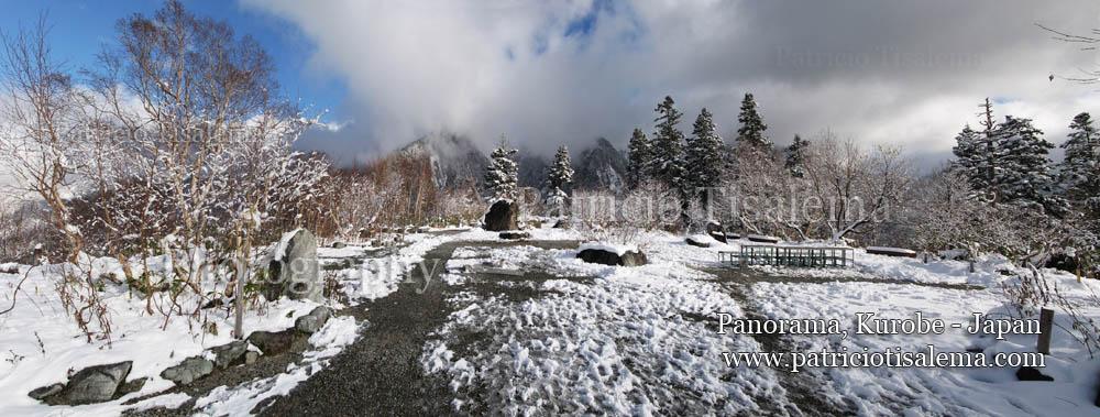 Patricio Tisalema Photography,White Forest Kurobe - Japan
