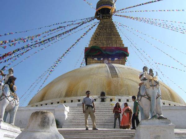 Estupa de Bhudanat en Kathmandú