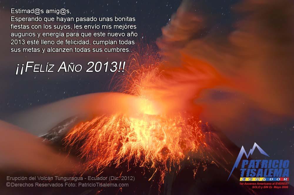 Felíz 2013 Patricio Tisalema