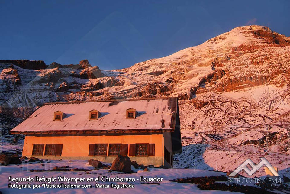 Second Chimborazo's refuge