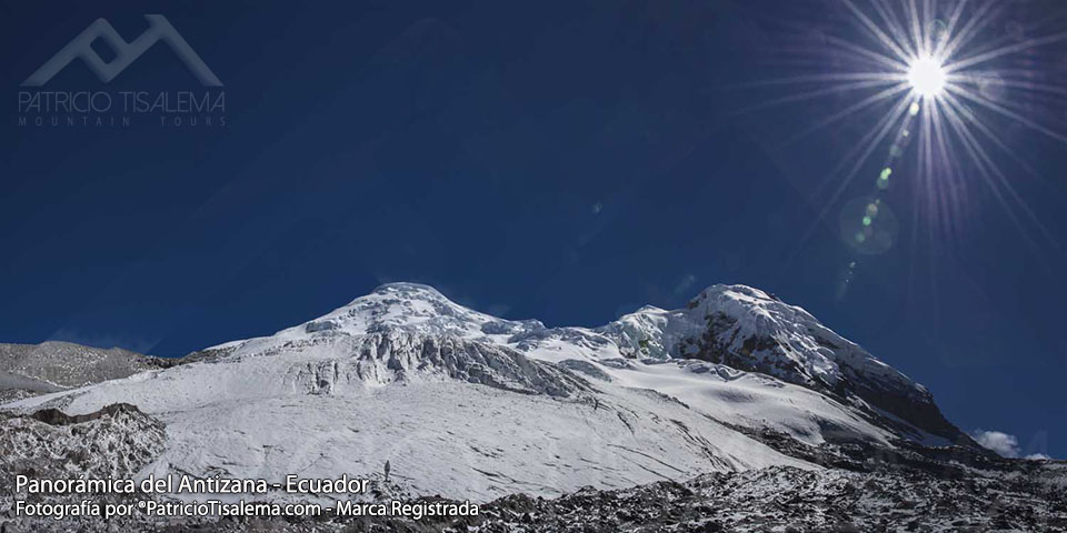 Entrada al glaciar los Crespos