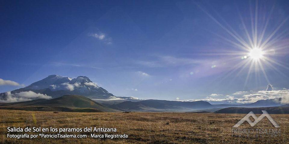 Antizana highlands