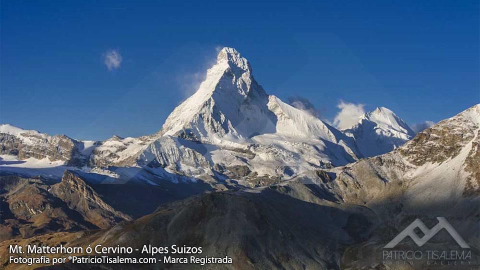 Matterhorn ó Cervino una de las montañas más bellas del mundo